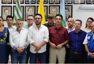 Alcalde y Gobernador de Villavicencio.