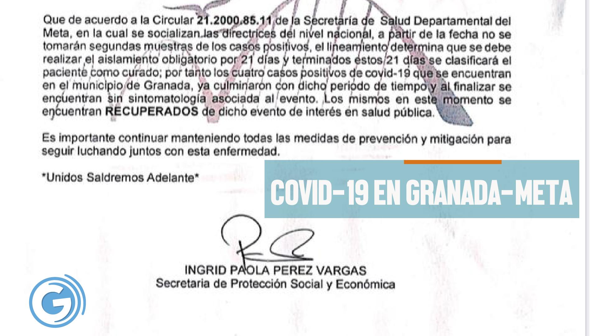 Covid 19 granada meta