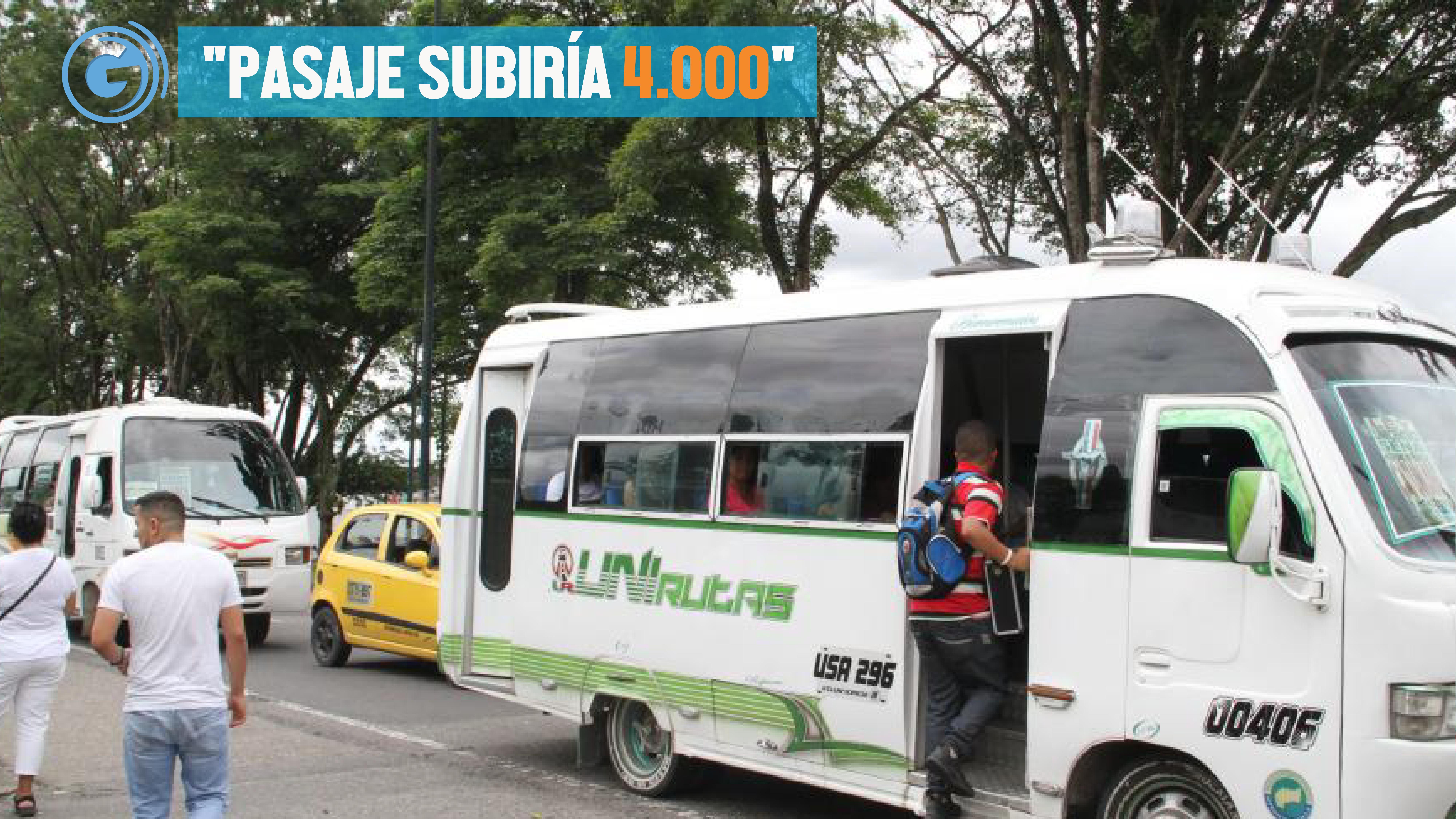 Transporte público Villavicencio