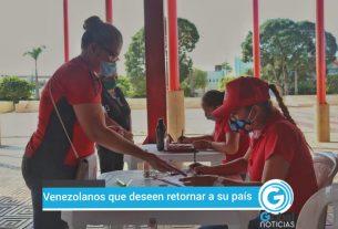 Venezolanos en Pto Gaitan