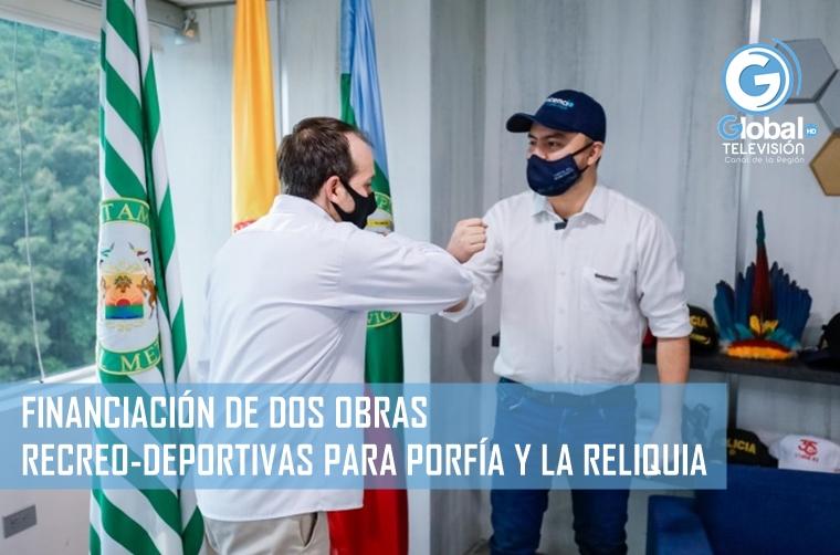 El ministro del Deporte, Ernesto Lucena, anunció que el Gobierno nacional financiará el 65 por ciento de dos escenarios recreo-deportivos en Ciudad Porfía y La Reliquia, en Villavicencio