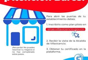 Los Bares En Villavicencio Deben Recibir La Visita Del Gobierno Municipal Para Poder Abrir Sus Puertas A Los Clientes