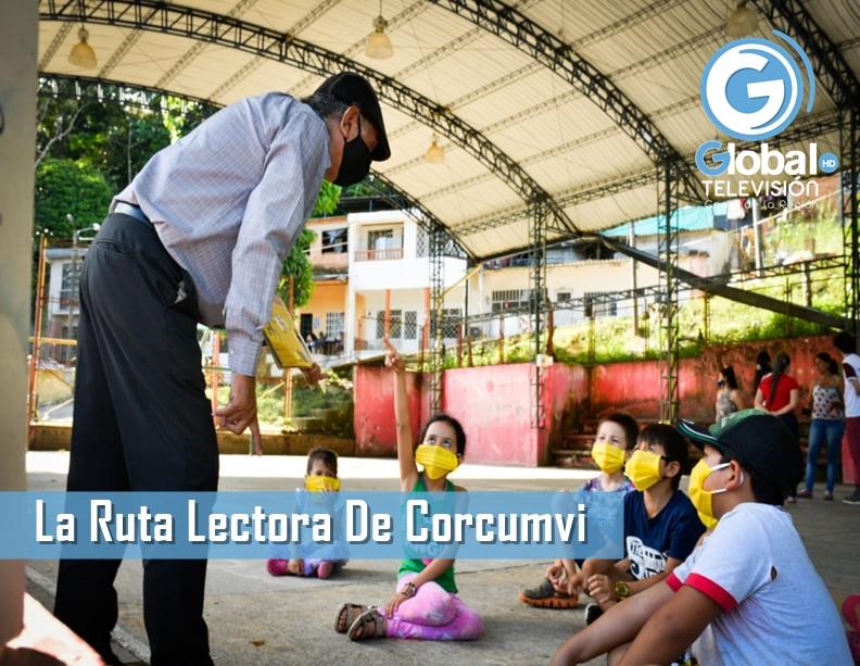 La Ruta Lectora De Corcumvi Llegó Hasta El Barrio Pozo Veinte Con Cuentos Y Literatura