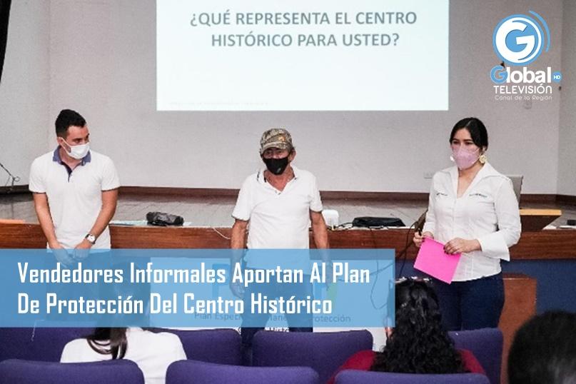 Con Sus Experiencias De Vida, Vendedores Informales Aportan Al Plan De Protección Del Centro Histórico