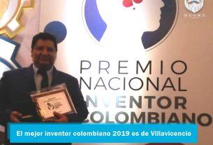 Un villavicense ganó Premio Nacional al Inventor Colombiano