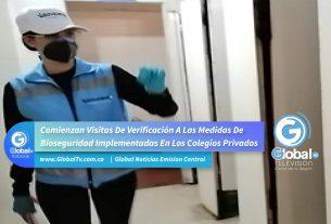 Comienzan Visitas De Verificación A Las Medidas De Bioseguridad Implementadas En Los Colegios Privados
