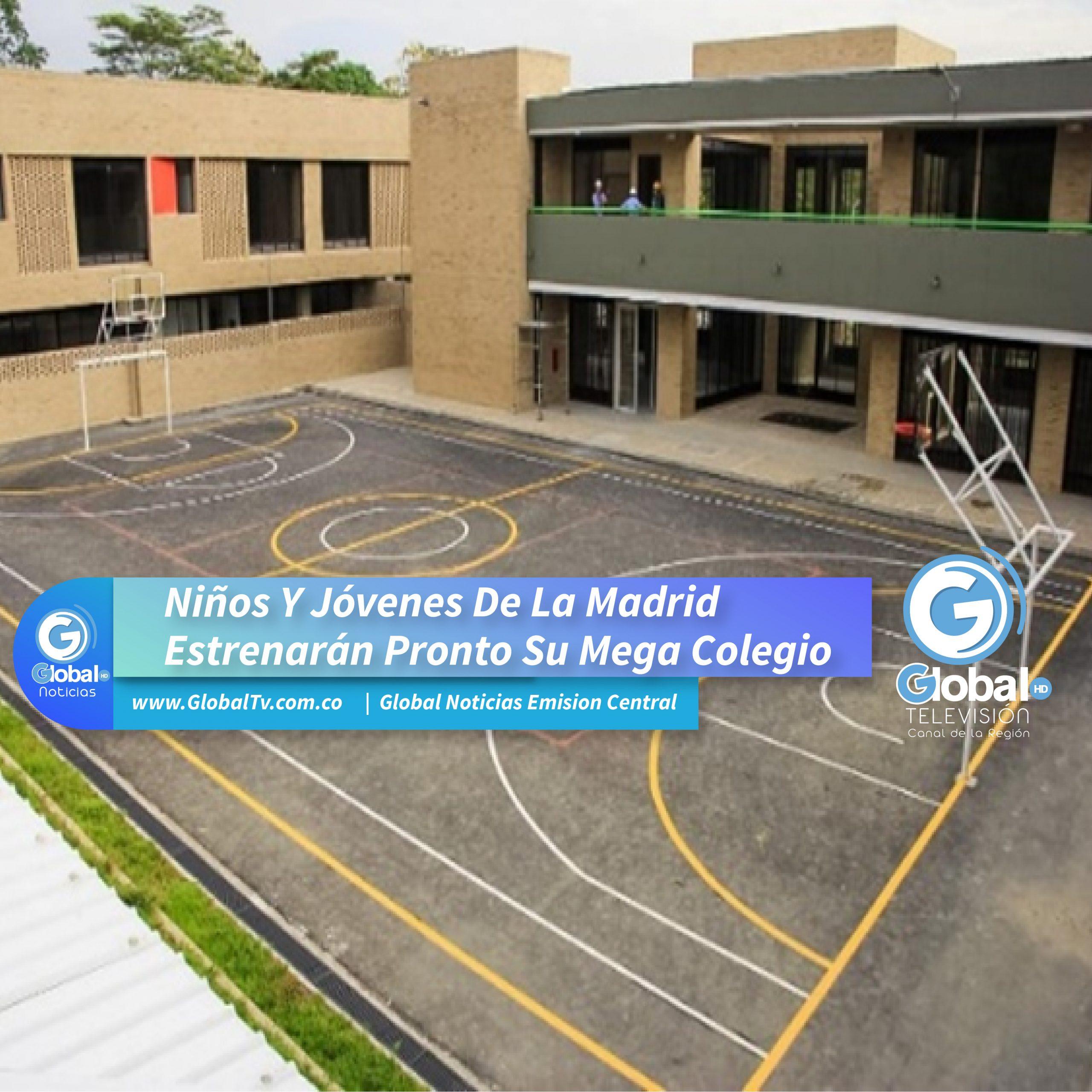 Niños Y Jóvenes De La Madrid Estrenarán Pronto Su Mega Colegio