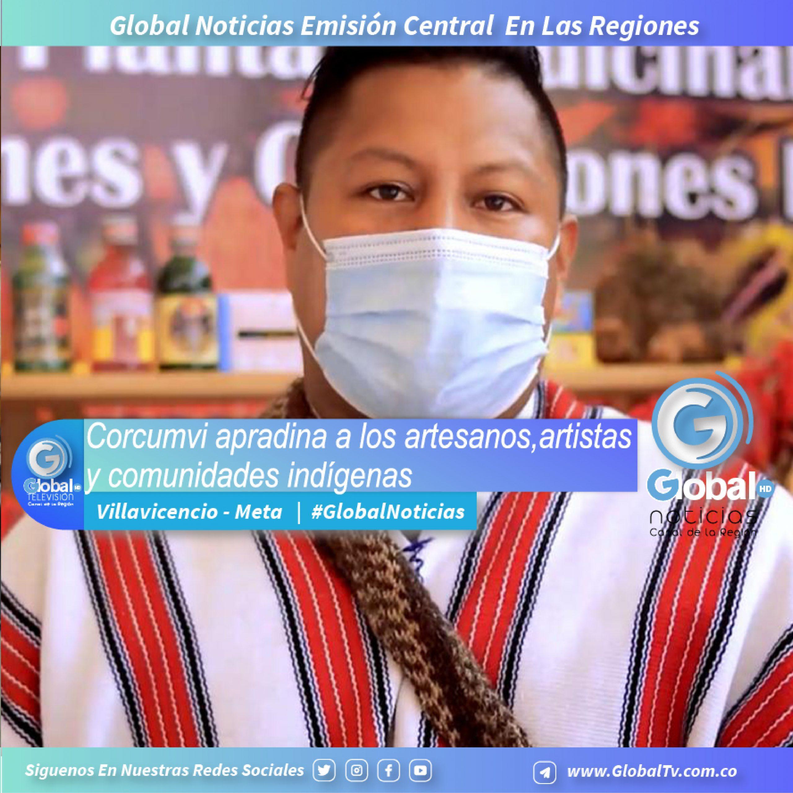 Corcumvi apadrina a los artistas, artesanos y comunidades indígenas en la galería 7 de agosto