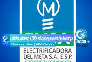 Alcaldías solicitaron a EMSA solución urgente a cortes de energía