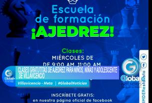CLASES GRATUTITAS DE AJEDREZ PARA NIÑOS, NIÑAS Y ADOLESCENTE DE VILLAVICENCIO.