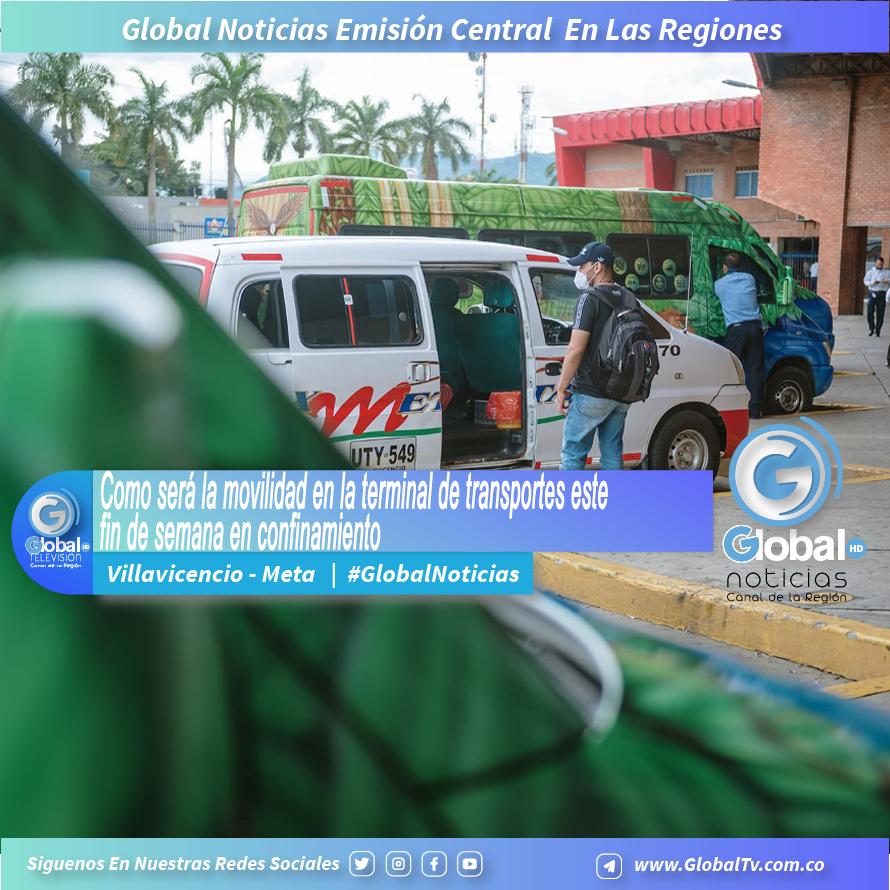 omo será la movilidad en la terminal de transportes en Villavicencio