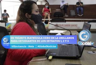 EN TRÁMITE MATRÍCULA CERO EN LA UNILLANOS PARA ESTUDIANTES DE LOS ESTRATOS 1, 2 Y 3