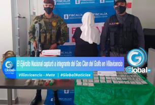 El Ejército Nacional capturó a integrante del Gao Clan del Golfo en Villavicencio