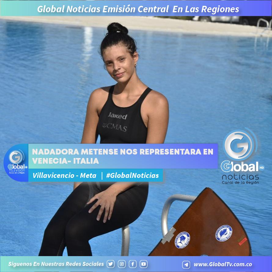 Nadadora metense nos representara en Venecia- Italia