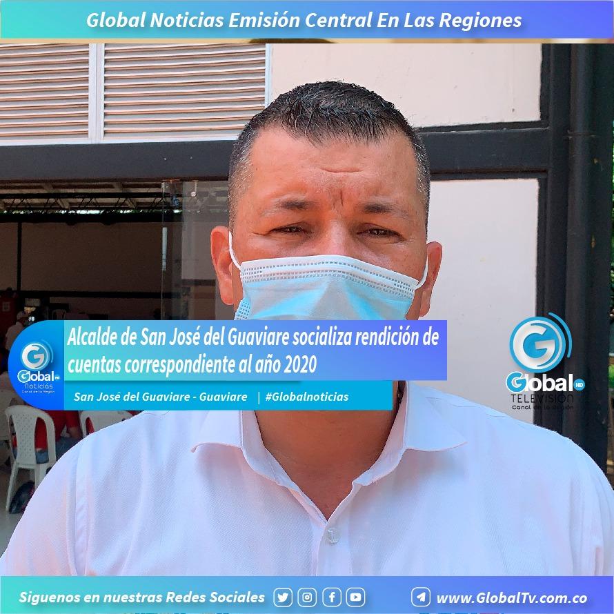 Alcalde del municipio de San José del Guaviare socializa con la comunidad la rendición de cuentas correspondiente al año 2020