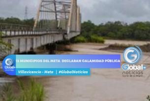 12 municipios del Meta declaran calamidad pública de lluvia
