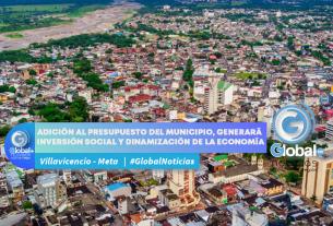 Adición al presupuesto del municipio, generará inversión social y dinamización de la economía