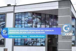 Avance de sesiones ordinarias del concejo municipal en San José del Guaviare