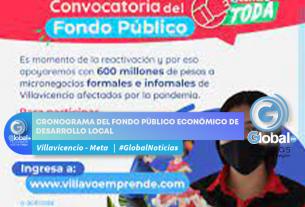 CRONOGRAMA DEL FONDO PÚBLICO ECONÓMICO DE DESARROLLO LOCAL