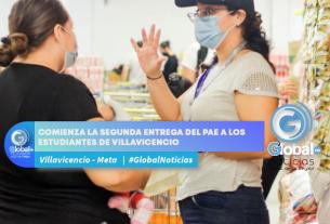 Comienza la segunda entrega del PAE a los estudiantes de Villavicencio