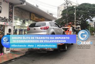GRUPO ÉLITE DE TRANSITO HA IMPUESTO 78 COMPARENDOS EN VILLAVICENCIO