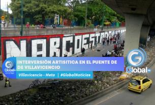 INTERVERSIÓN ARTISITICA EN EL PUENTE DE ALKOSTO DE VILLAVICENCIO