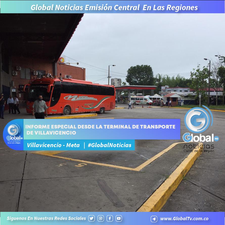 Informe especial desde la terminal de transporte de Villavicencio
