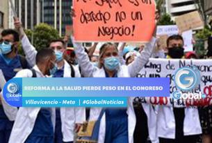 Reforma a la salud pierde peso en el congreso