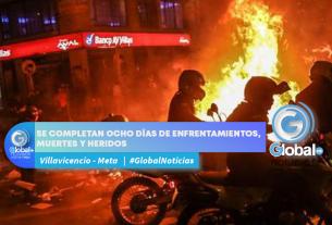 SE COMPLETAN OCHO DÍAS DE ENFRENTAMIENTOS, MUERTES Y HERIDOS