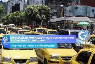 Secretaría de movilidad y taxis comprometidos a combatir la ilegalidad