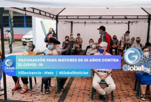 VACUNACIÓN PARA MAYORES DE 55 AÑOS CONTRA EL COVID -19