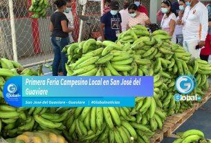 Primera Feria Campesino Local en San José del Guaviare