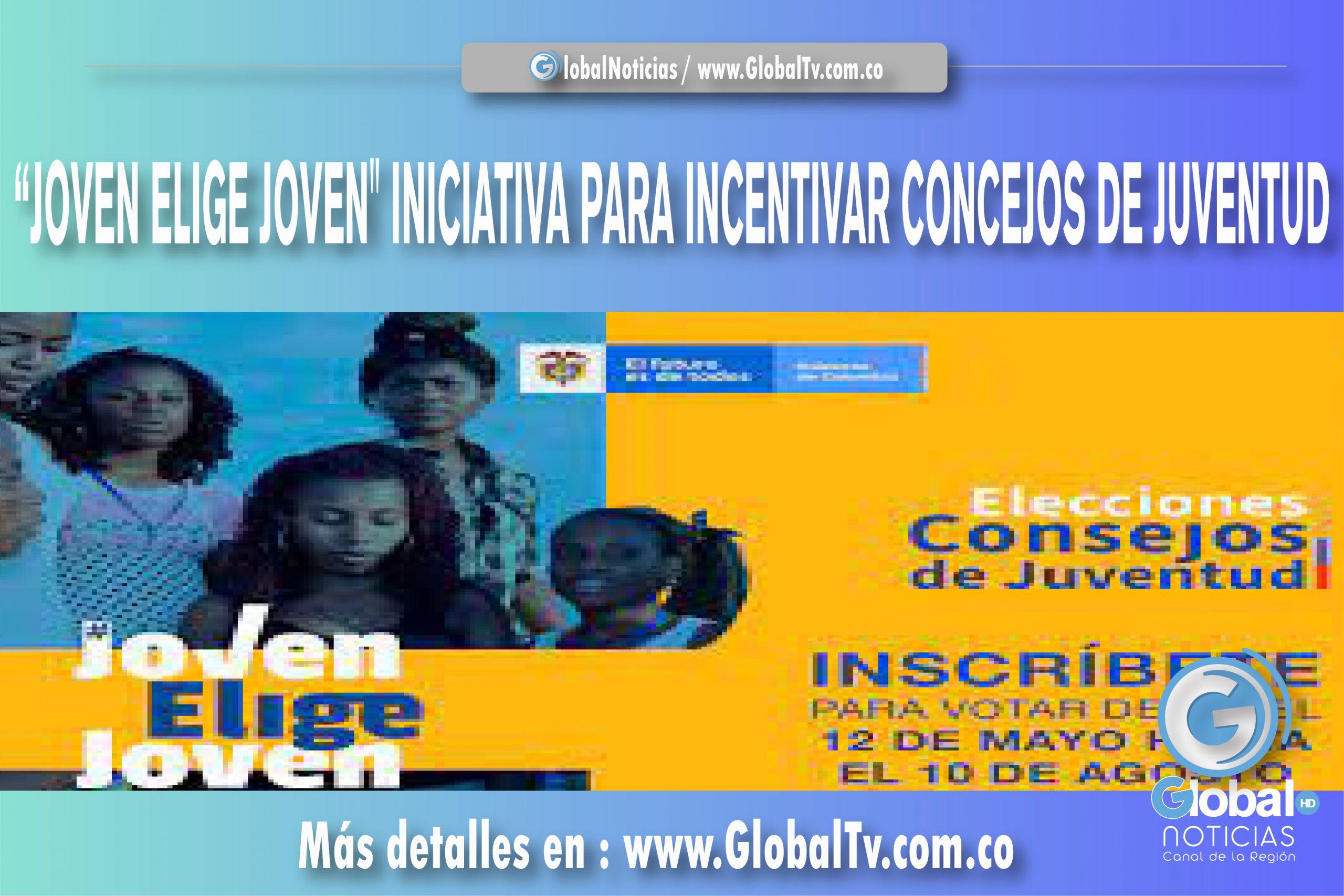 """""""JOVEN ELIGE JOVEN"""" INICIATIVA PARA INCENTIVAR CONCEJOS DE JUVENTUD"""