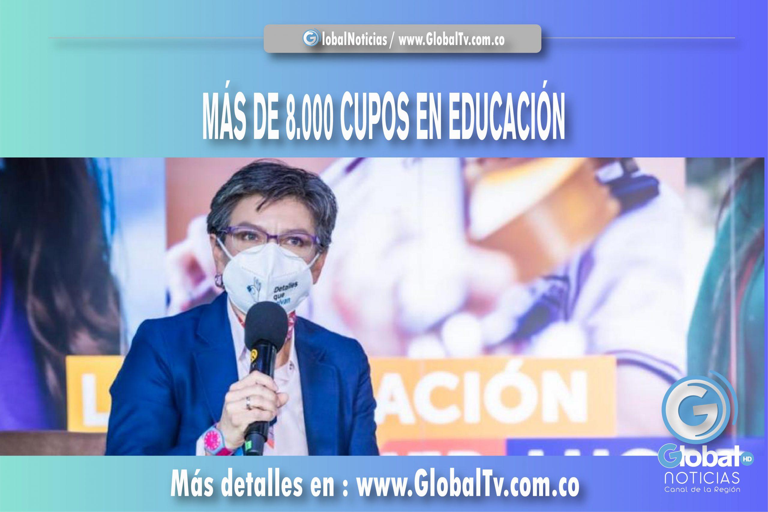 MÁS DE 8.000 EN EDUCACIÓN (BOGOTÁ)