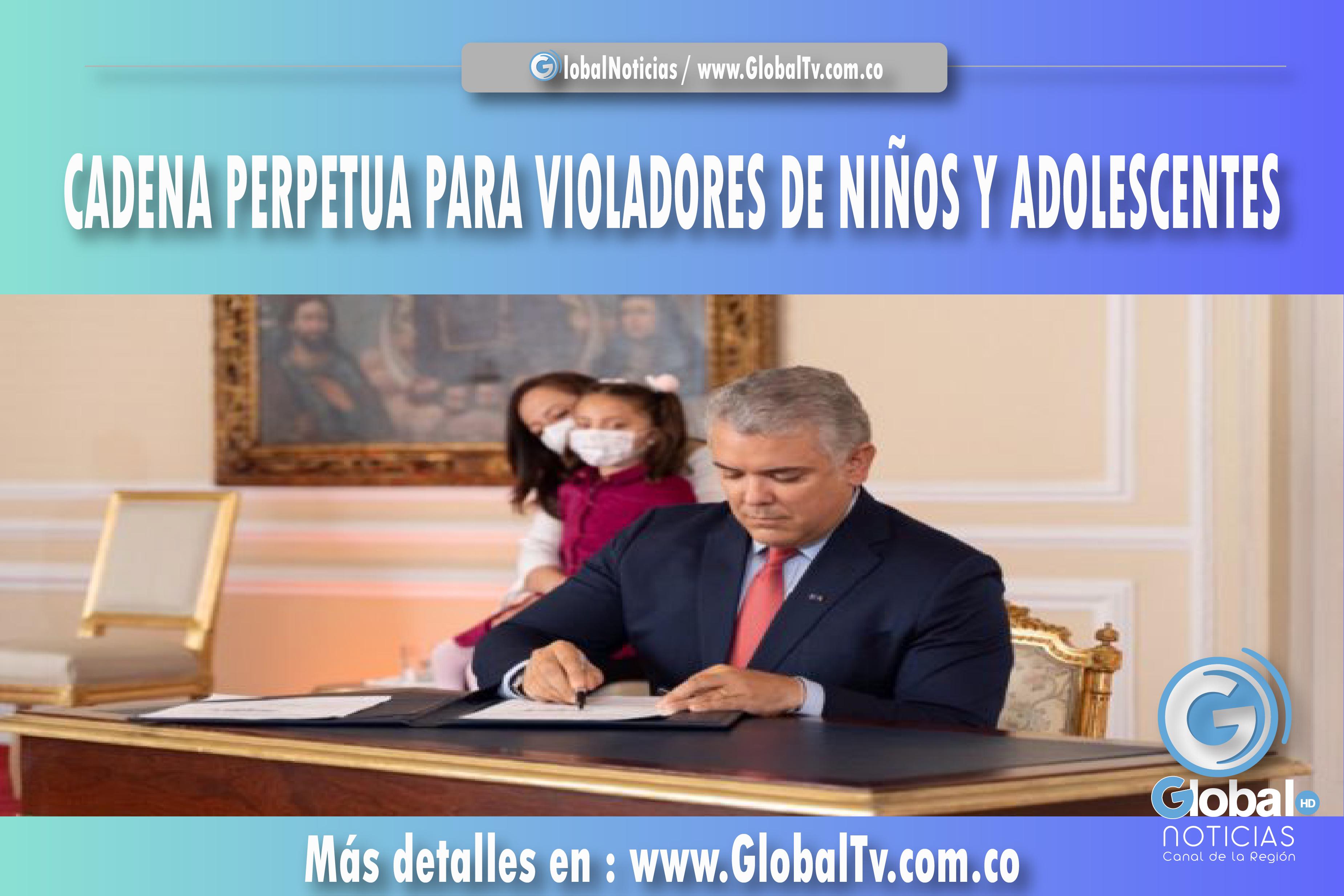 CADENA PERPETUA PARA VIOLADORES DE NIÑOS Y ADOLESCENTES