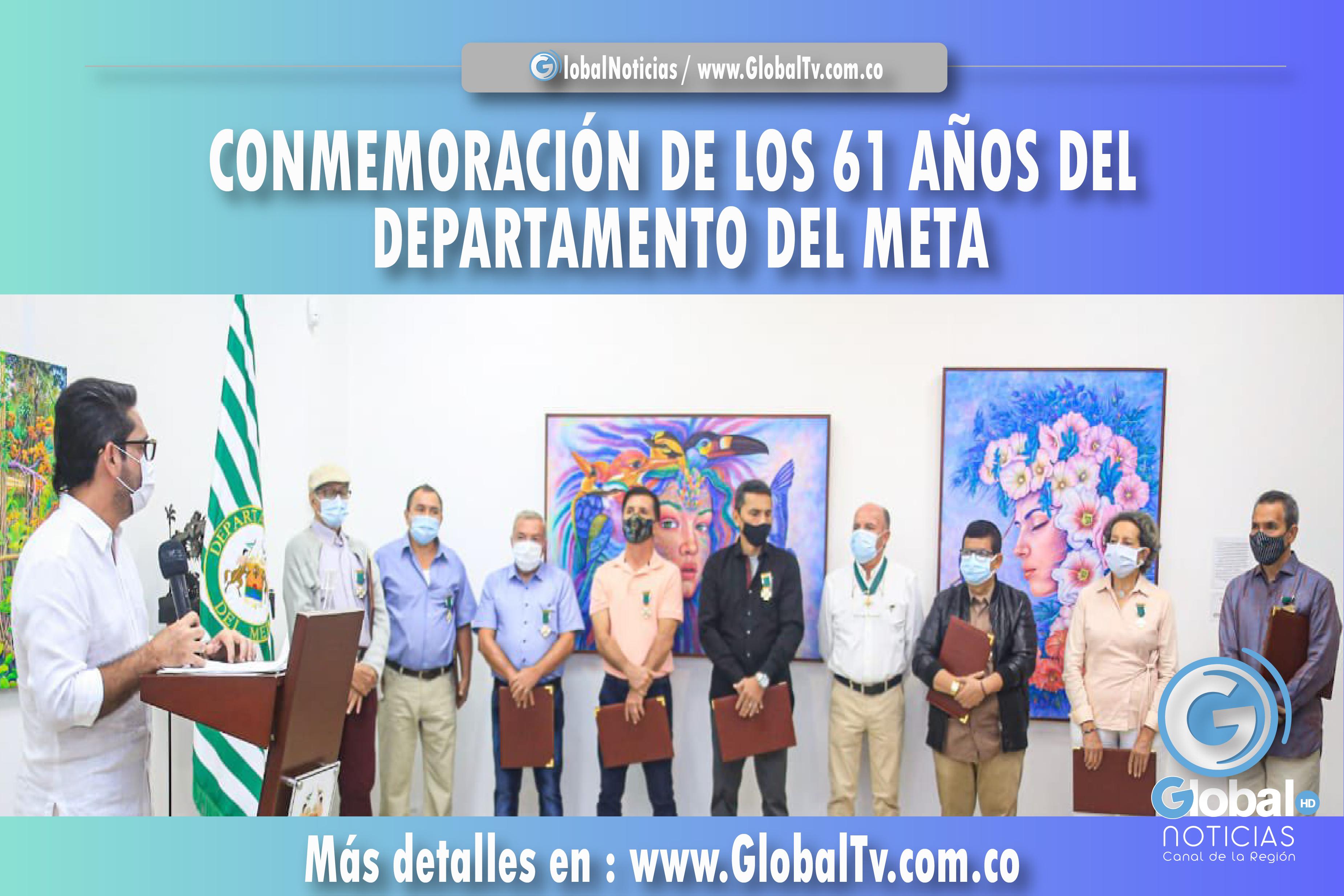 CONMEMORACIÓN DE LOS 61 AÑOS DEL DEPARTAMENTO DEL META