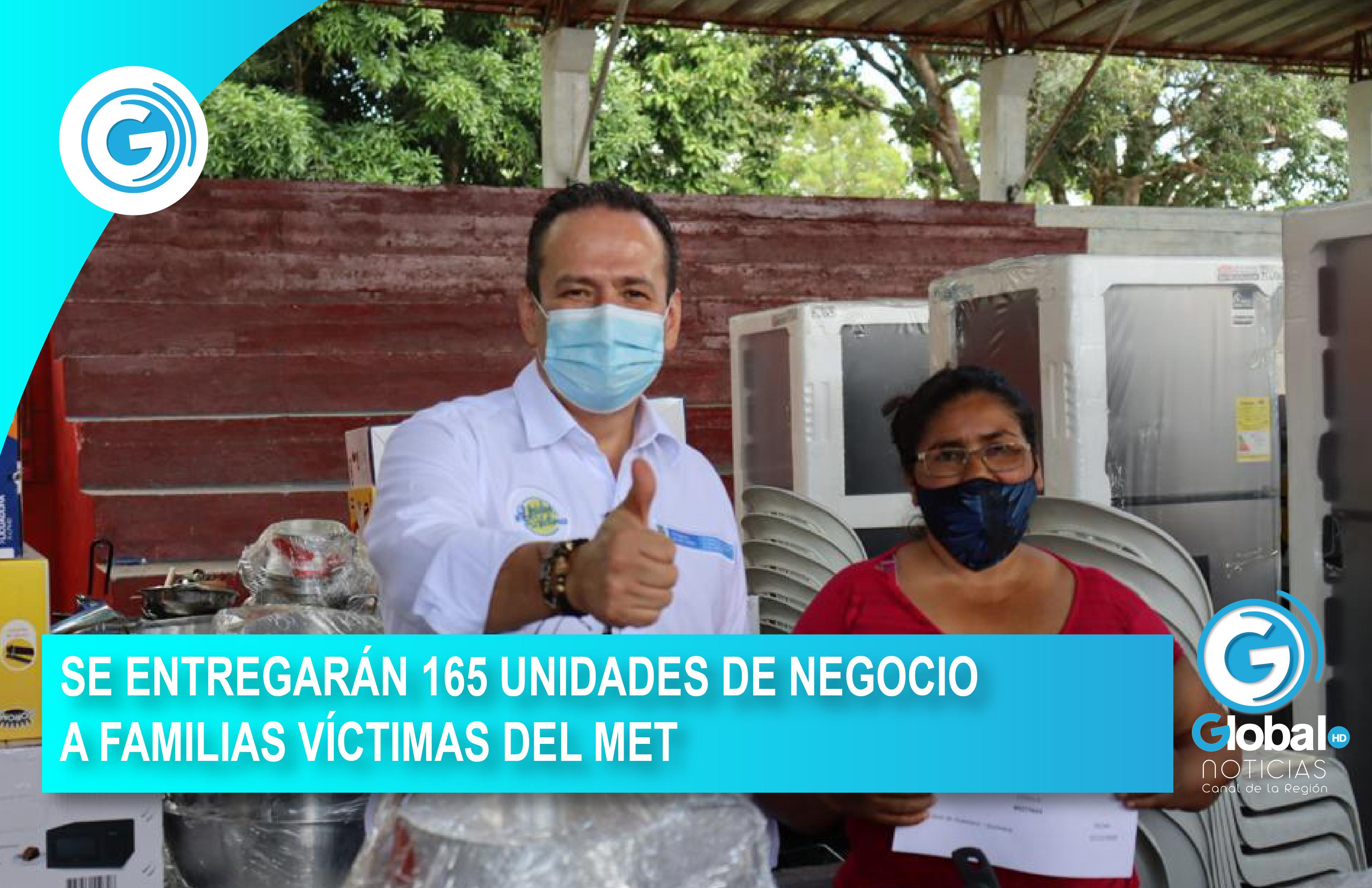 SE ENTREGARÁN 165 UNIDADES DE NEGOCIO A FAMILIAS VÍCTIMAS DEL META