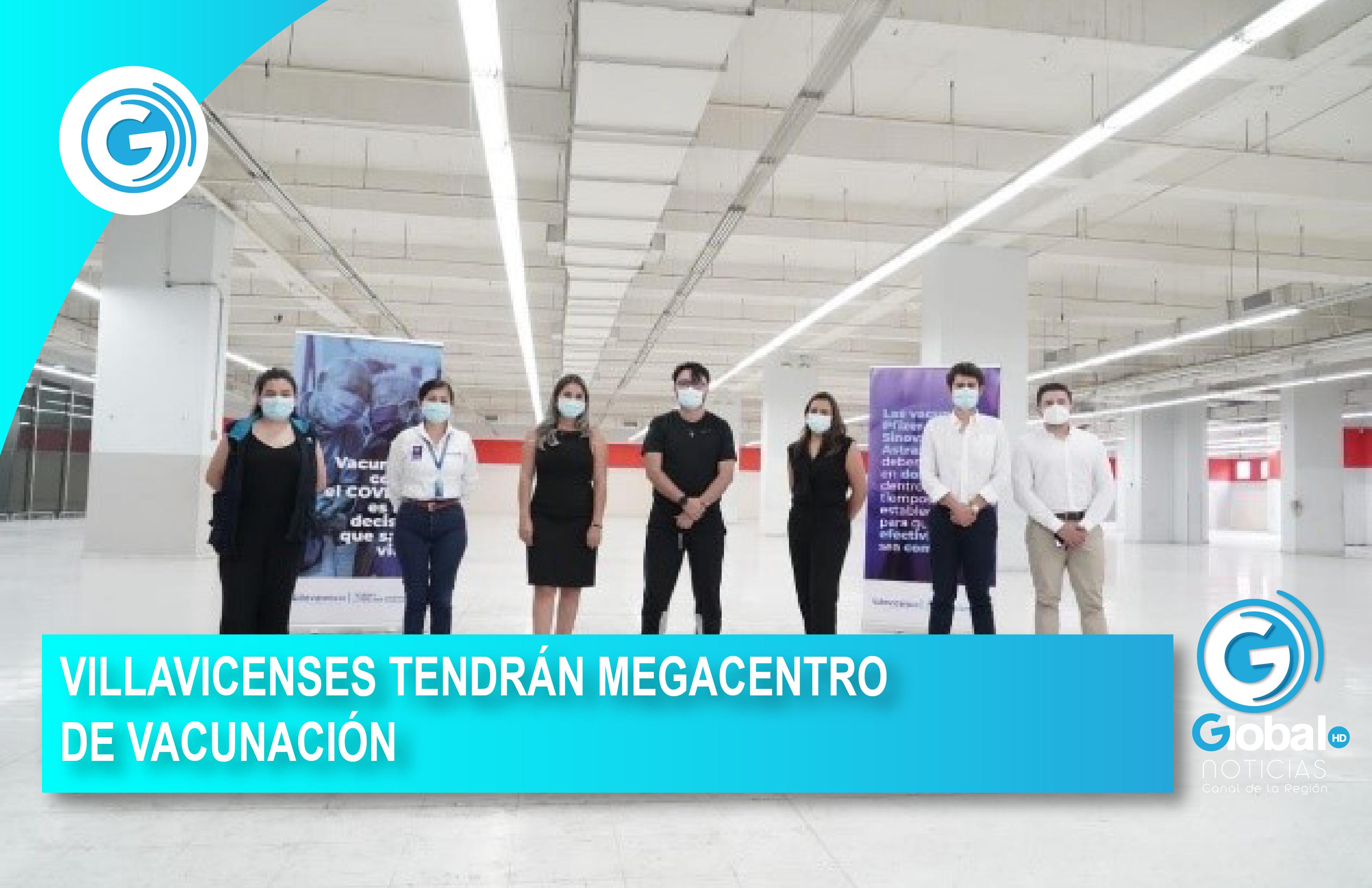 VILLAVICENSES TENDRÁN MEGACENTRO DE VACUNACIÓN